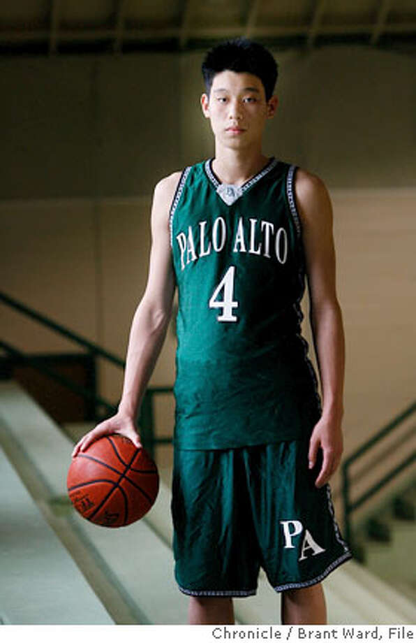 lin080_ward.jpg  Chronicle boys basketball player of the year Jeremy Lin of Palo Alto High School plans to attend Harvard and play basketball.  Brant Ward3/29/06 Photo: Brant Ward