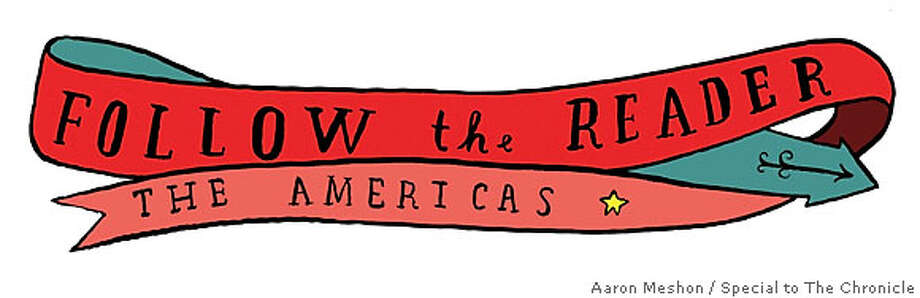Follow the Reader: The Americas. Illustration by Aaron Meshon, special to the Chronicle