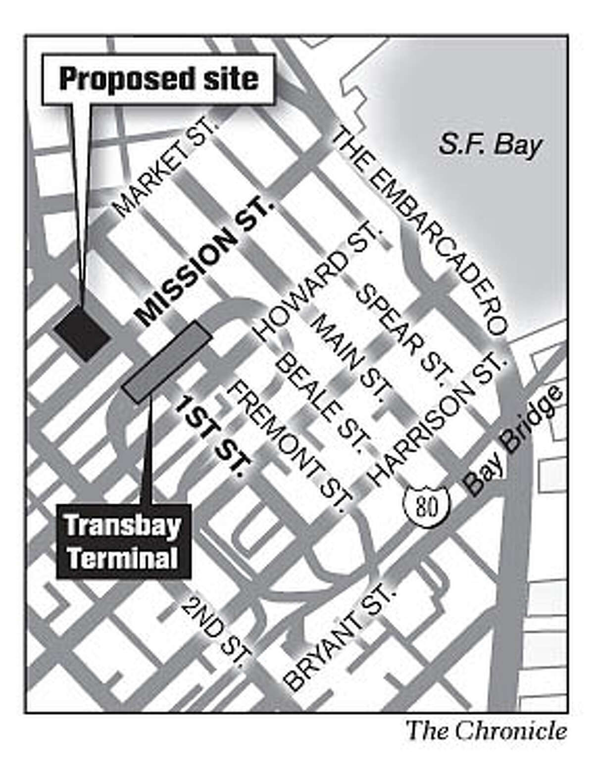 Proposed Site. Chronicle Graphic
