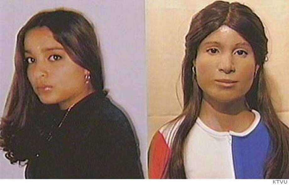 Photo of Yesenia Becerra Nungaray to a rendering of Castro Valley's Jane Doe. CR: KTVU Photo: Handout