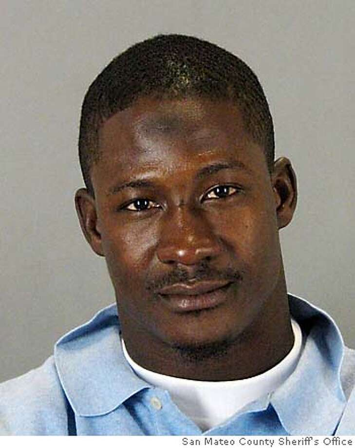 Booking mug for Antonio Bryant. Provided by the San Mateo County Sheriff's Office Photo: San Mateo County Sheriff's Offic