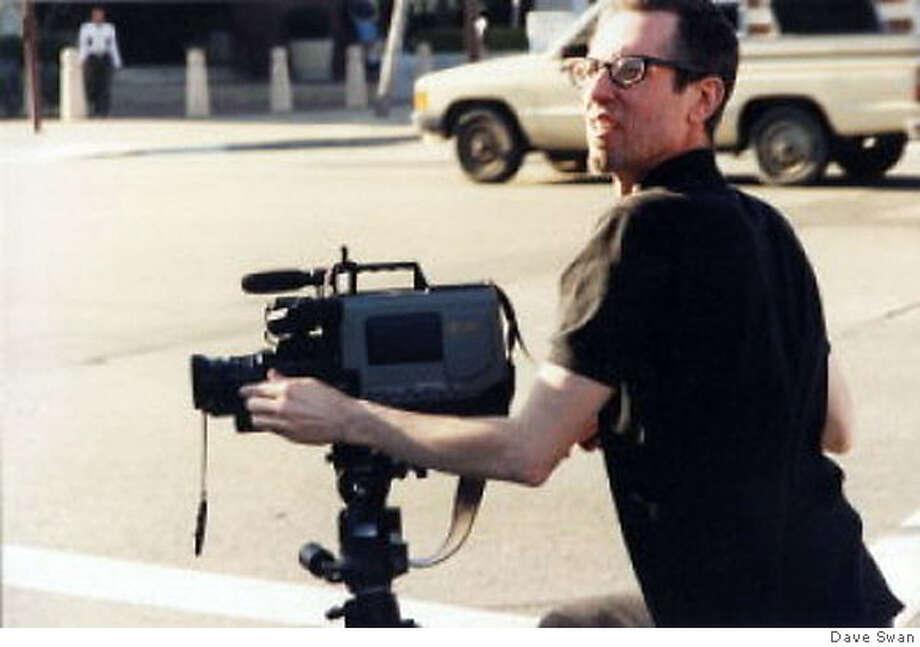 "Filmmaker Dave ""Dog"" Swan on the set of ""Shackgirl."" Credit: Dave Swan Photo: Dave Swan"