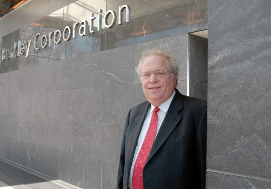 William Berkley, chairman and CEO of W.R. Berkley Corp. The $4.9 billion Greenwich-based company has 48 operating units underwriting a spectrum of property and casualty risks, from pleasure aircraft to cyber security. Photo: Dru Nadler, ST / 00005998A