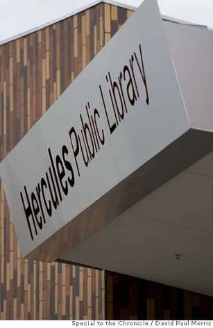 HERCULES, CA - DECEMBER 14: The new Hercules Public Library on December 14, 2006 in Hercules, California. Photo by David Paul Morris/The Chronicle Photo: David Paul Morris