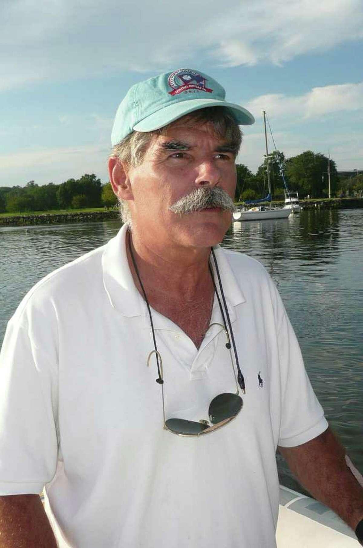 Ian MacMillan, Greenwich's harbor master.