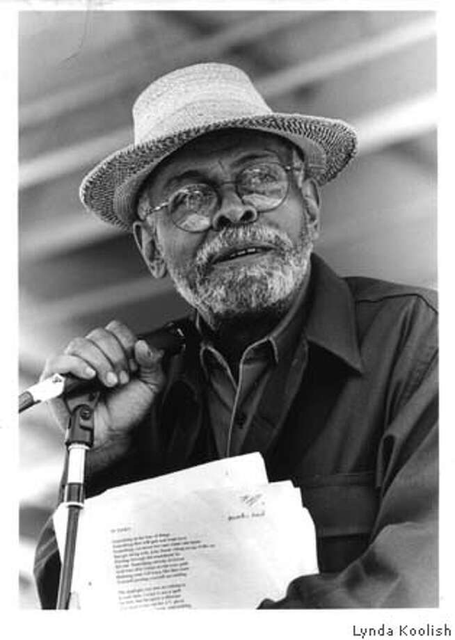 Photo of Amiri Baraka. Photo: Handout