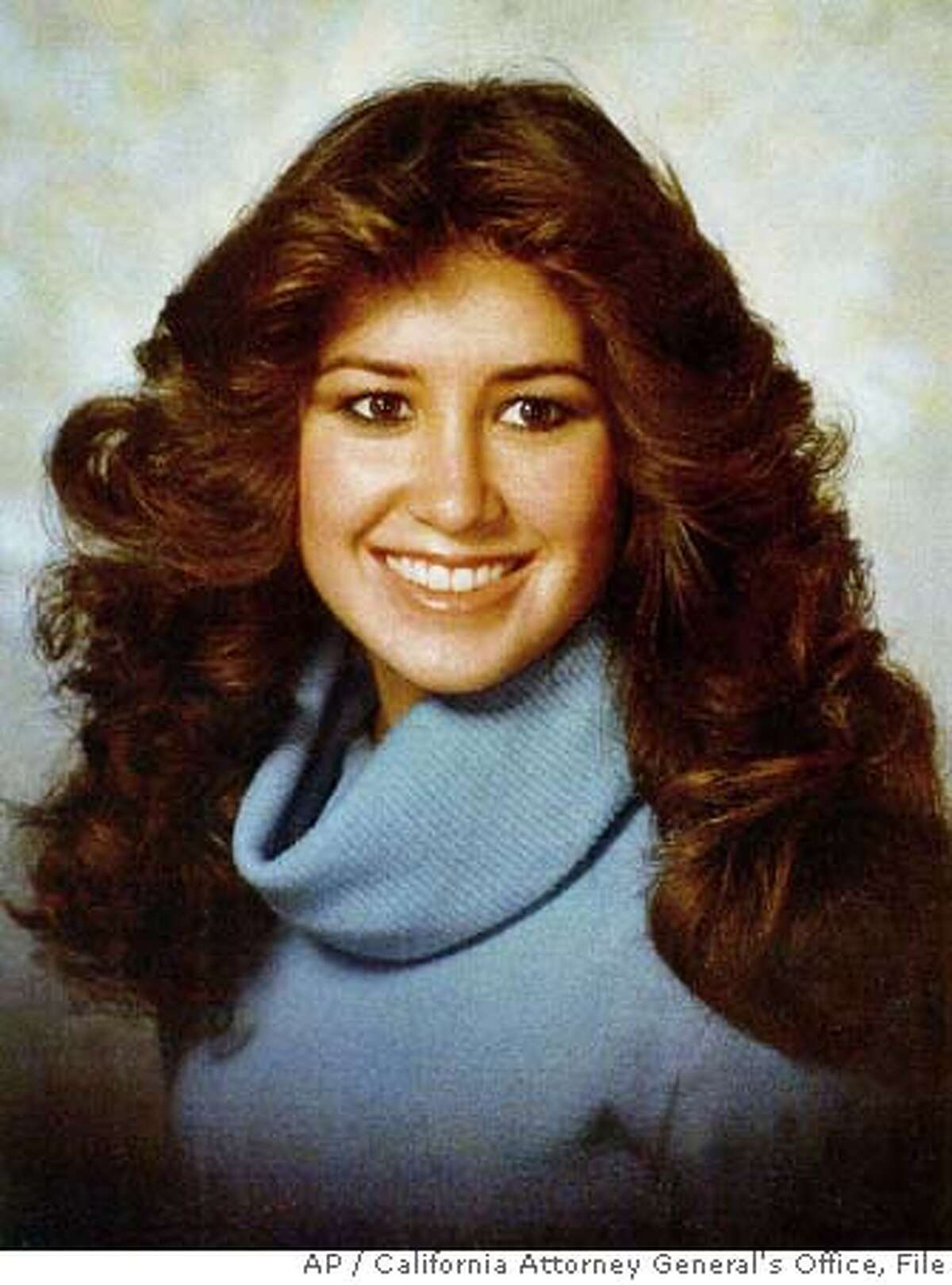 **FILE** In this undated photo released by the California Attorney General's Office, Terri Winchell is shown. Michael Morales was convicted in 1983 of murdering Winchell, 17, who was found beaten and stabbed in a secluded vineyard. Does California's lethal injection protocol used in executions cause too much pain and violate the Eighth Amendment ban on cruel and unusual punishment? That question will be the subject of at least four days of hearings, beginning Tuesday, Sept. 26, 2006, before a California federal judge in San Jose, Calif. The litigation surrounds the case of Morales. (AP Photo/California Attorney General's Office) Ran on: 09-28-2006 Terri Winchell was raped and fatally beaten in 1981. Ran on: 09-28-2006 Ran on: 09-28-2006 Ran on: 09-28-2006 UNDATED PHOTO PROVIDED BY THE CALIFORNIA ATTORNEY GENERAL'S OFFICE