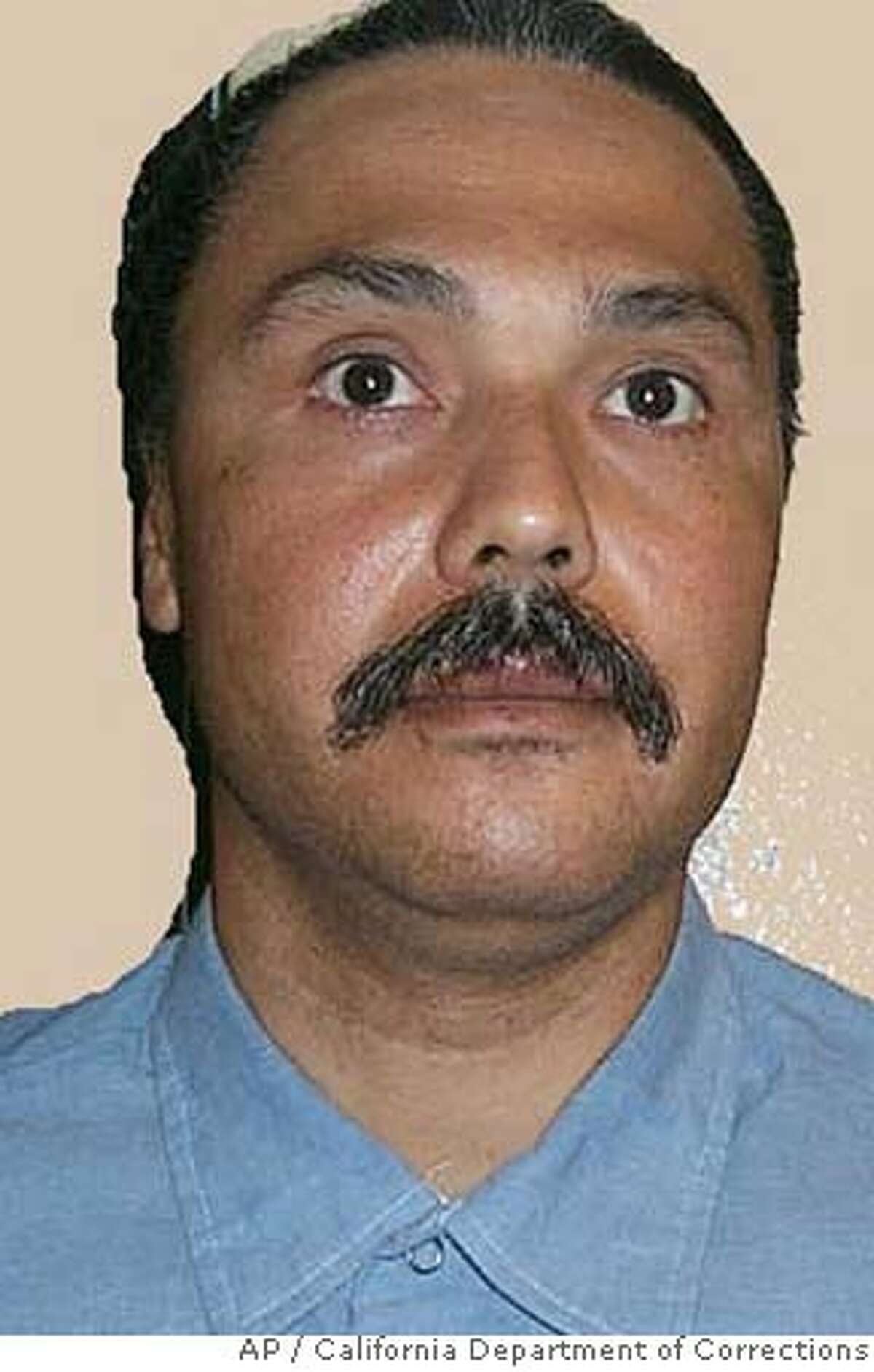** FILE ** PHOTO HAS BEEN DIGITALLY ALTERED BY SOURCE TO REMOVE BACKGROUND ** In this undated photo released by the California Department of Corrections, death row inmate Michael Morales, 46, of Stockton, is seen. Faced with grim testimony of poorly trained executioners operating in cramped, dimly lit quarters, a federal judge on Friday, Dec. 15. 2006, declared California's execution procedure unconstitutional. California has been under a capital punishment moratorium since February when U.S. District Judge Jeremy Fogel halted the execution of Morales, a convicted rapist and murderer, amid claims inmates were suffering excruciating deaths. (AP Photo/ California Department of Corrections) ** PHOTO HAS BEEN DIGITALLY ALTERED BY SOURCE TO REMOVE BACKGROUND **