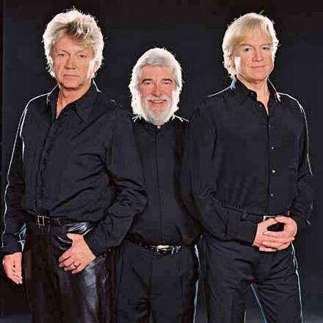 John Lodge, Graeme Edge and Justin Hayward of the Moody Blues. Photo: Wolftrap.com