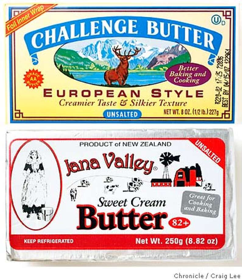 TASTE13_011_cl.JPG  Photo of Challenge butter. Event on 12/8/06 in San Francisco. photo by Craig Lee / The Chronicle MANDATORY CREDIT FOR PHOTOG AND SF CHRONICLE/ -MAGS OUT Photo: Photo By Craig Lee
