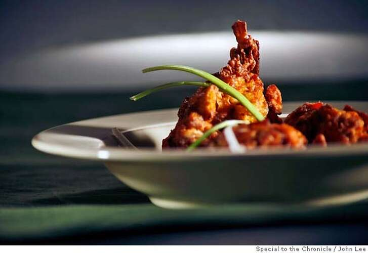 FRIED1301JOHNLEE.JPG  Sweet potato fritters.  By JOHN LEE/SPECIAL TO THE CHRONICLE