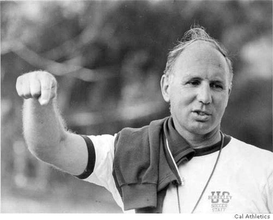 Bob DiGrazia, Cal soccer coach 1953-80.  Credit: Courtesy Cal athletics  Ran on: 12-13-2006  Bob DiGrazia was an All-American and won more than 200 games as the coach at Cal before becoming an associate athletic director.  Ran on: 12-13-2006 Ran on: 12-13-2006 Photo: Courtesy Cal Athletics