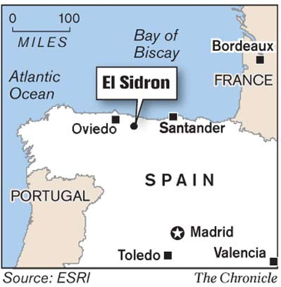 El Sidron. Chronicle Graphic