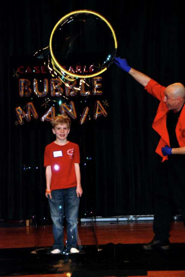 "Thursday: ""Bubblemania: The Science of Bubbles,"" a science show for children, takes place at 10 a.m. and 12:30 p.m. at the Ridgefield Playhouse. Photo: Contributed Photo"