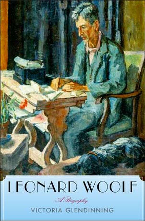 "Book cover art for, ""Leonard Woolf"" by Virginia Glendinning, painting done by Virginia�s sister, Vanessa. Photo: Handout"