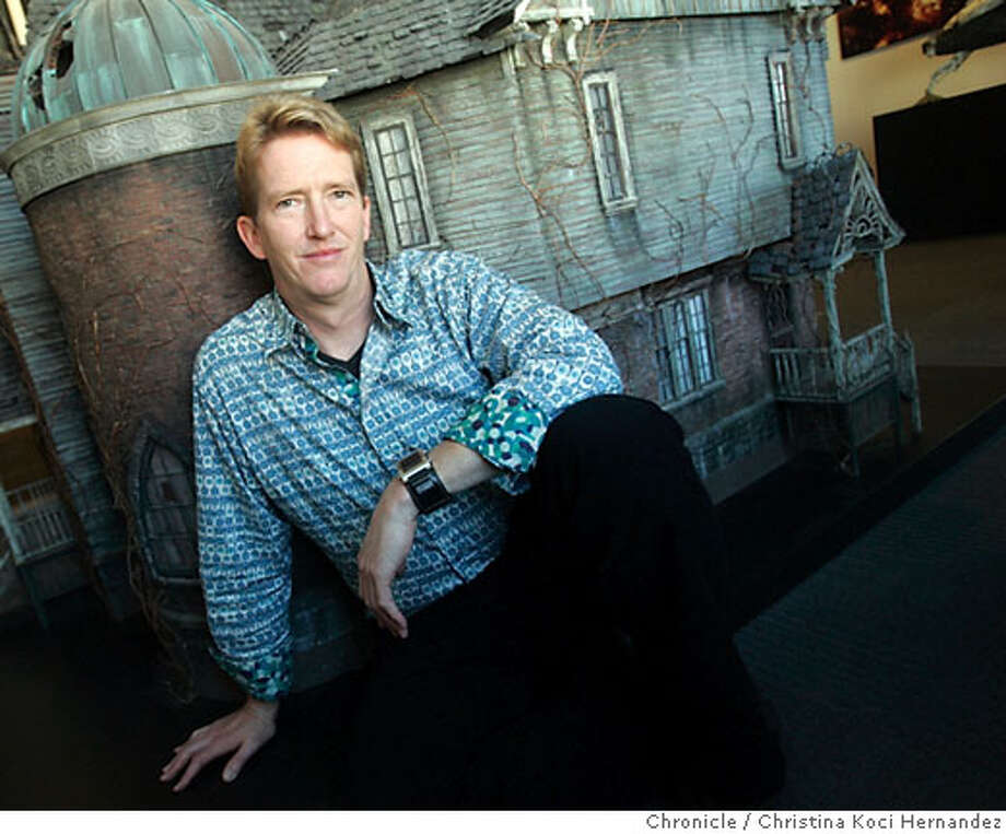 "Fangmeier in front of the actual model of the house used in the movie ""Series of Unfortunate Events."" Stephen Fangmeier's a special effects wizard who worked for Industrial Light & Magic on films such as Master & Commander: The Far Side of the World. His first movie as a director is Eragon, an action adventure movie about dragons that comes out in a couple of weeks. We talk to Stephen, a Bay Area native who lives in Larkspur..(CHRSTINA KOCI HERNANDEZ/CHRONICLE) CHRONICLE Photos by CHRISTINA KOCI HERNANDEZ Photo: CHRISTINA KOCI HERNANEZ/CHRONICL"