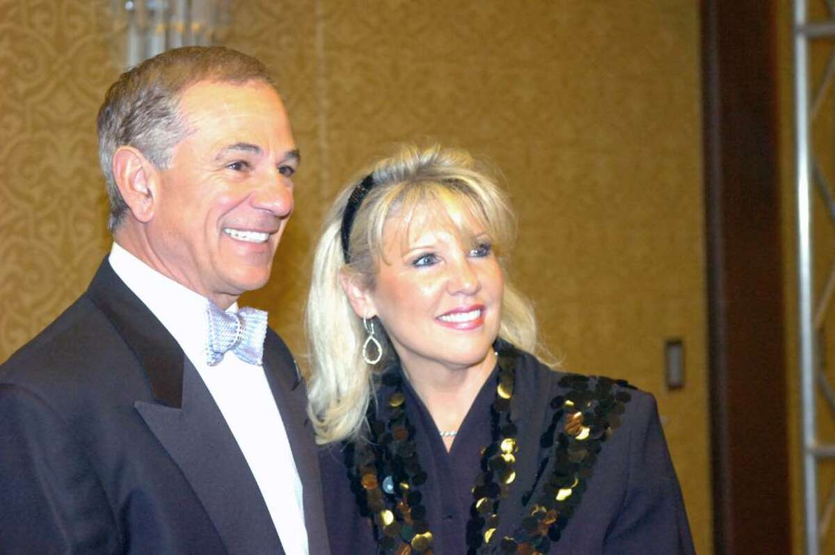 Stamford native Bobby Valentine and Mary Rauscher at the 31st Multiple Sclerosis Dinner of Champions at the Hyatt Regency in Old Greenwich Thursday evening, Nov. 12, 2009. Valentine hosted the event which Rauscher co-chaired.
