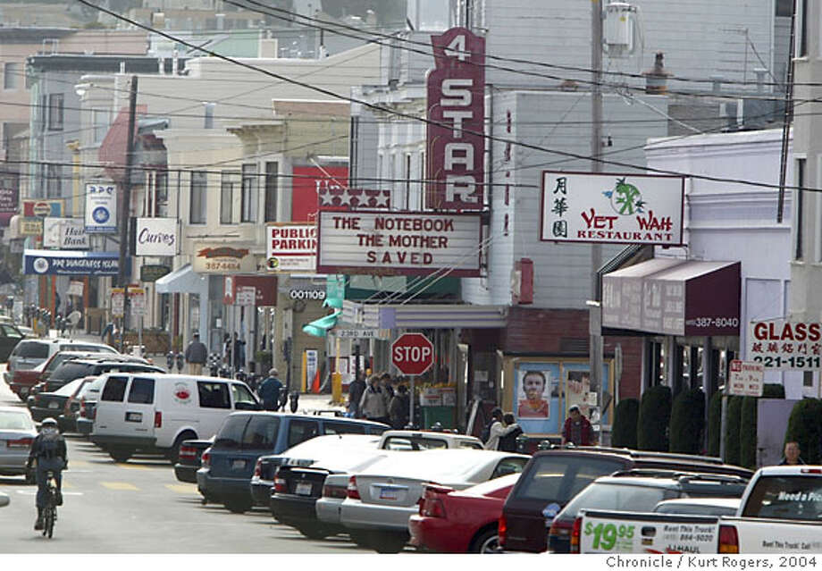 4-Star Theater, there since 1919, is on track to close in May 2005 when lease runs out. It is the only theater in the city that shows first-run movies from Hong-Kong. Owner is fighting to stay open. 7/9/04 in San Francisco,CA. Photo: Kurt Rogers