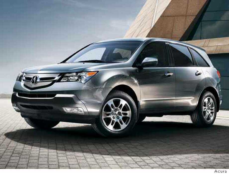 acura mdx 2007  Ran on: 12-08-2006 Photo: Courtesy