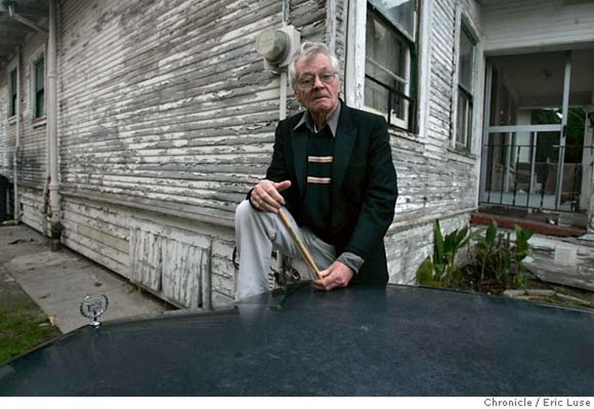 BLACK20162_el.jpg In front of his 1990 Cad at his home in Alameda Dave Black is a great 76-year-old jazz drummer who played with Duke Ellington and other big names, worked around the Bay area for years then came down with some mysterious illness that sidelines him. Now he's back playing wonderfully, every Friday night at Uva in Napa. Event on 12/14/04 in Alameda. Ran on: 12-21-2004 Dave Black has played with Duke Ellington and many others in his long career. He plays every Friday night at Uva in Napa. Ran on: 12-21-2004 Margaret OShea