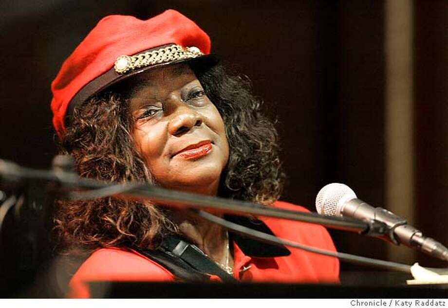 When one path narrowed, she took another to life as blues pianist