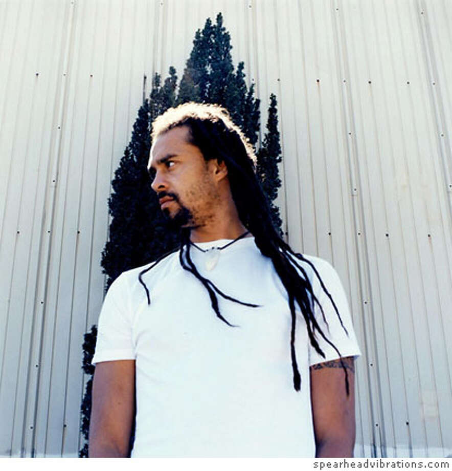 Michael Franti  Ran on: 12-03-2006  Michael Franti: honored as a documentary filmmaker. Photo: Spearheadvibrations.com