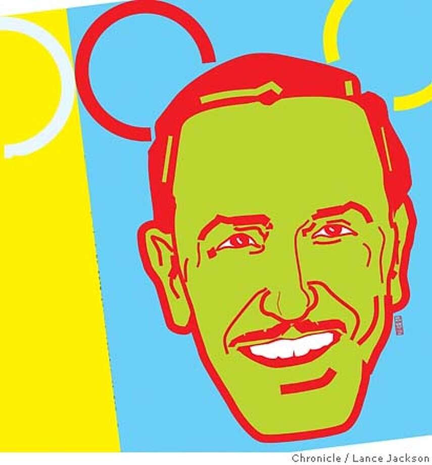 Walt Disney. Chronicle illustration by Lance Jackson