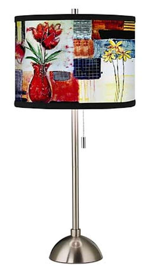 Lamp for new Home feature. Credit: Lamps Plus Photo: Lamps Plus