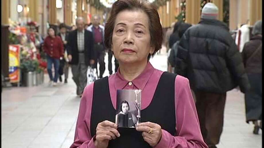 Etsuko Nagano, a survivor of the Nagasaki  atomic bombing, who appears in the film WHITE LIGHT/BLACK RAIN: The  Destruction of Hiroshima and Nagasaki, directed by Steven Okazaki. Photo: Ho