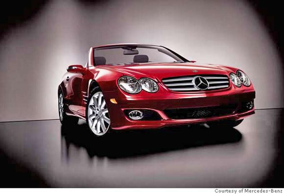2007 Mercedes-Benz SL550 Photo: Photo Courtesy Mercedes-Benz