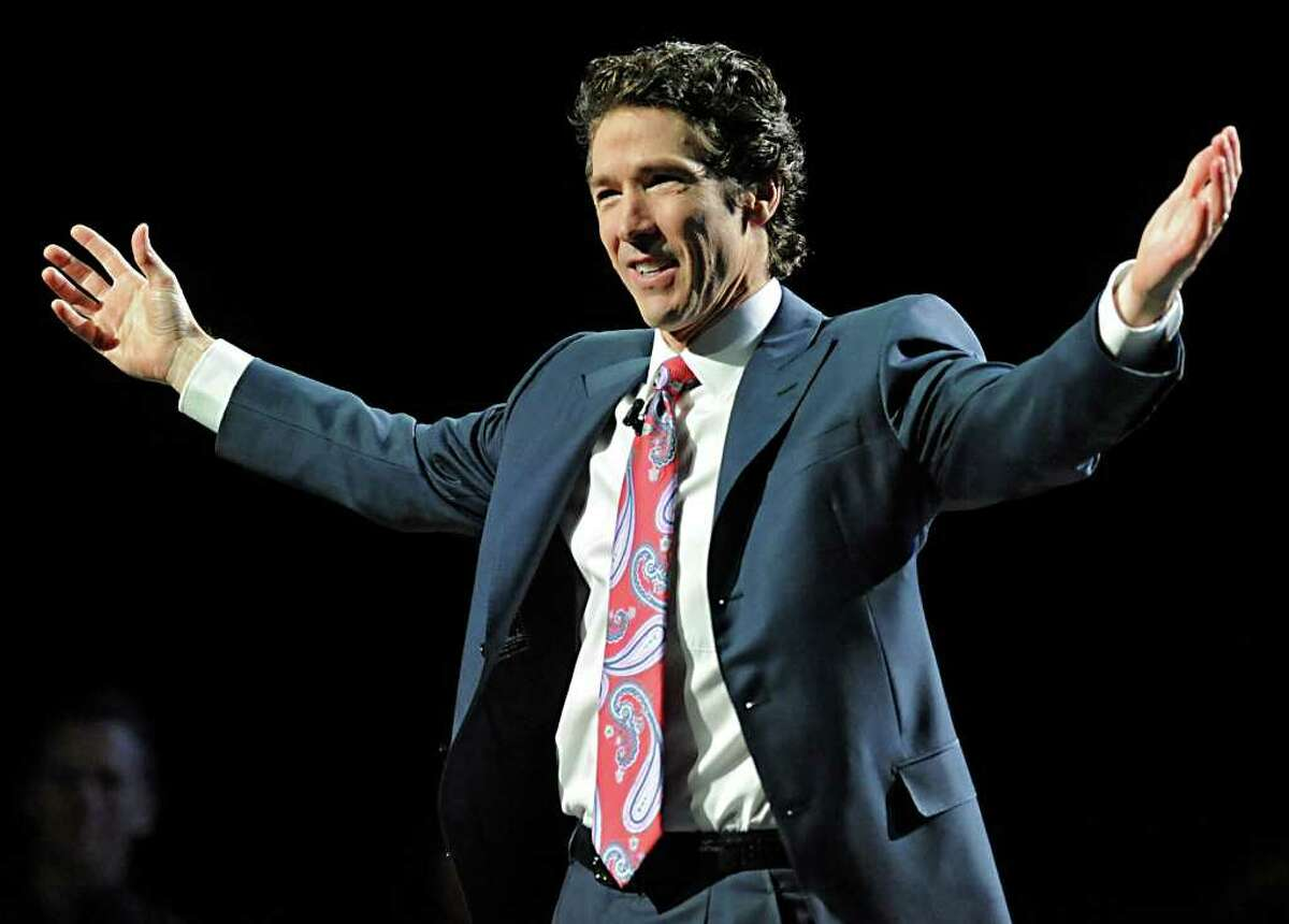 Televangelist Joel Osteen returns to the Times Union Center with