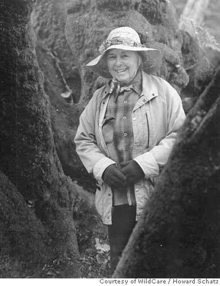 Photo of Elizabeth Terwilliger. Photo by Howard Schatz/Courtesy of WildCare Photo: Howard Schatz/Courtesy Of WildCa