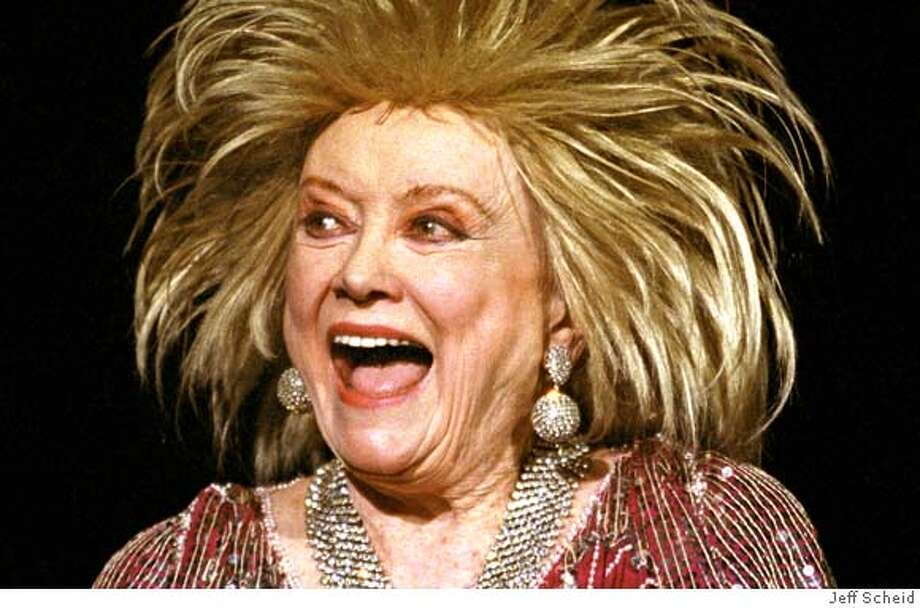 �Photo of Phyllis Diller. Photo by Jeff Scheid