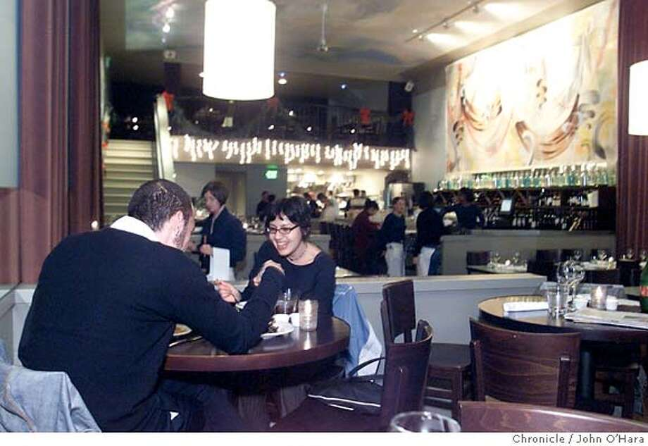 Andalu restaurant, a popular tapas place in the Mission District, is due for a new look when it changes hands. Chronicle photo, 2002, by John O'Hara