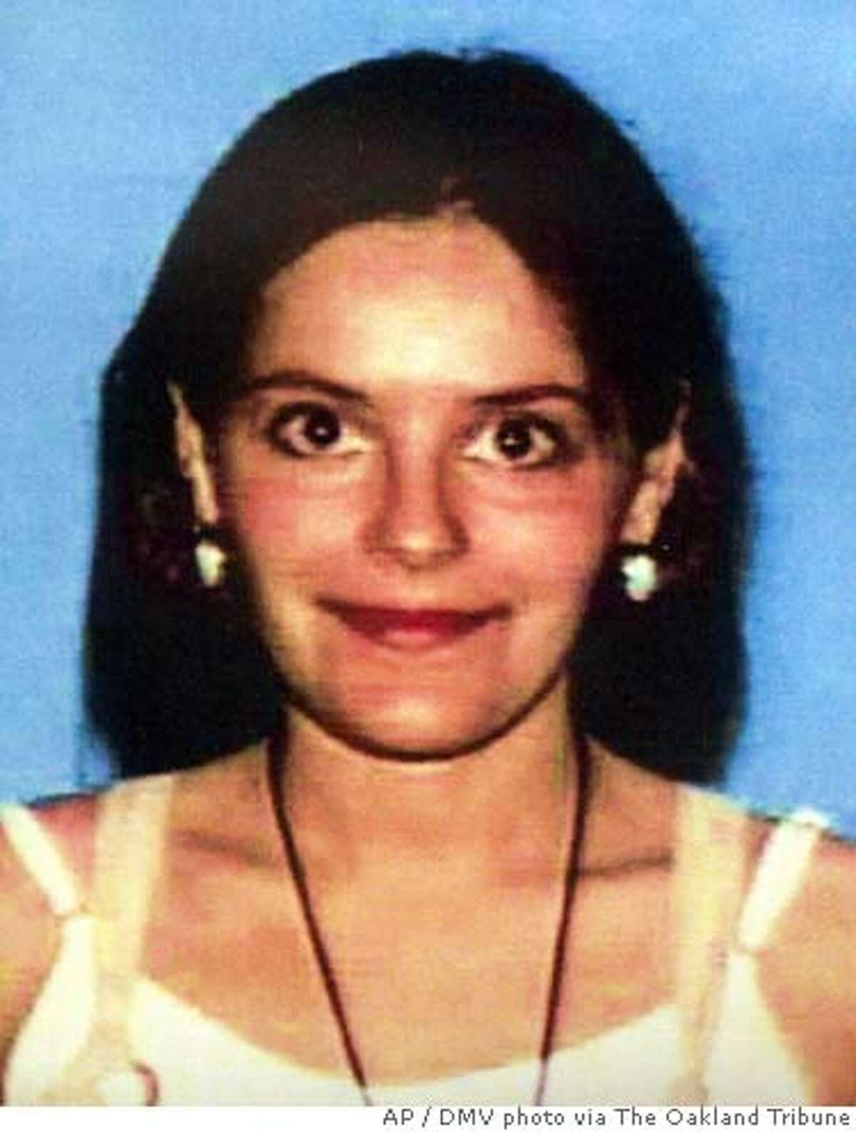 In this 1999 California DMV photo, Nina Reiser, who has been missing since Sept. 3, 2006, is shown On Tuesday, Oct. 10, 2006, Oakland, Calif., Deputy Chief Howard Jordan said they have charged her husband, Hans Reiser, on suspicion of murder. (AP Photo/DMV photo via The Oakland Tribune, ) LOCALS PLEASE CREDIT/MAGS OUT