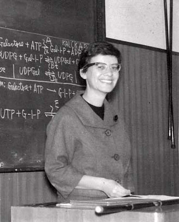 Obituary photo of Esther Lederberg. Photo: Handout