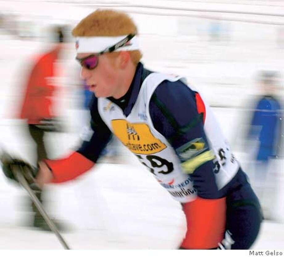 Matt Gelso in the 2006 World Junior  Championships in Kranj, Slovenia.  He placed 16th.