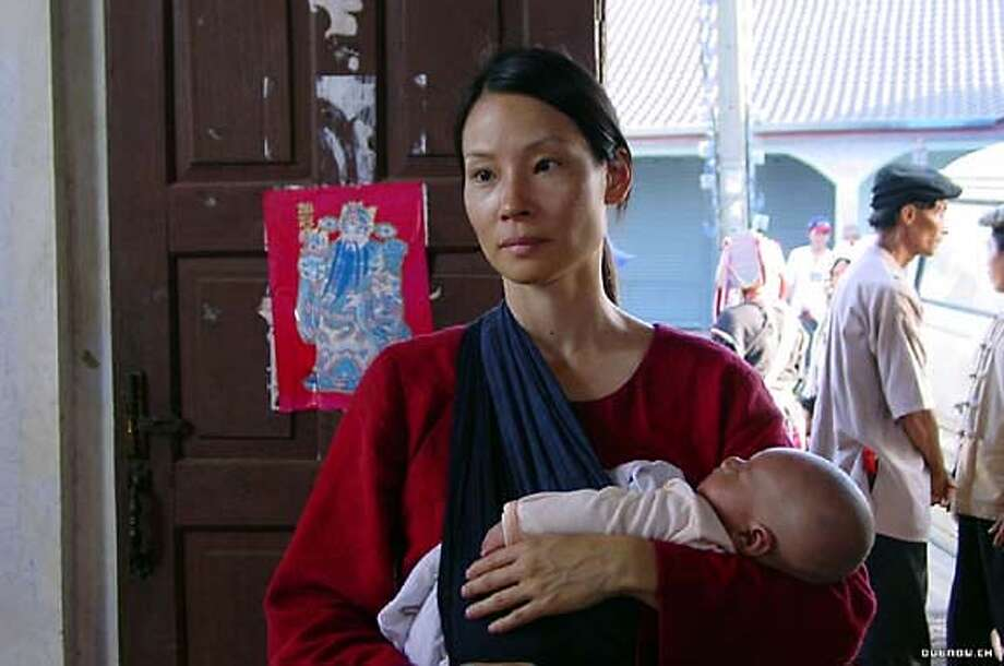"""Lucy Liu in """"3 Needles,"""" a movie about AIDS by Thom Fitzgerald Photo: Covington USA"""