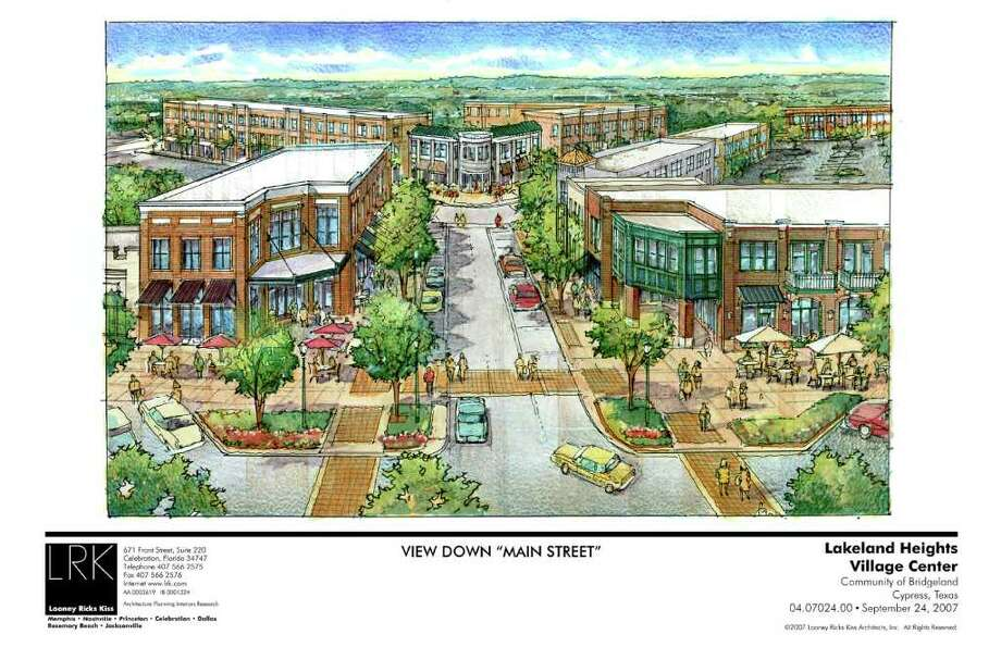 Lakeland Heights was to have historically designed homes with a quaint shopping district nearby. But residents say apartments and a strip center are now being planned. / DirectToArchive