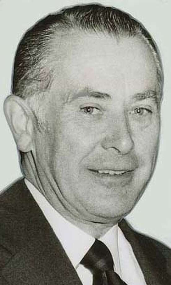 Marvin E. Cardoza, S.F. Police Commissioner B of A V.P. Photo dated NOV 8 1972 on back Submitted by Erik Ingram 11/24/06 Publishes 11/25/06 Photo: Joseph Rosenthal