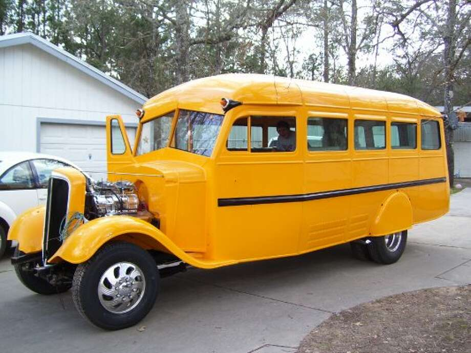 Randy Watson's 1936 Chevy School Bus (Photos courtesy of Chet Beaty, Randy and Molly Shannon and Niftee 50ees)