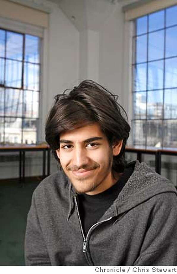 FILE — Aaron Swartz is the 19-year-old co-founder of reddit.com in San Francisco. Chris Stewart / The Chronicle Photo: Chris Stewart