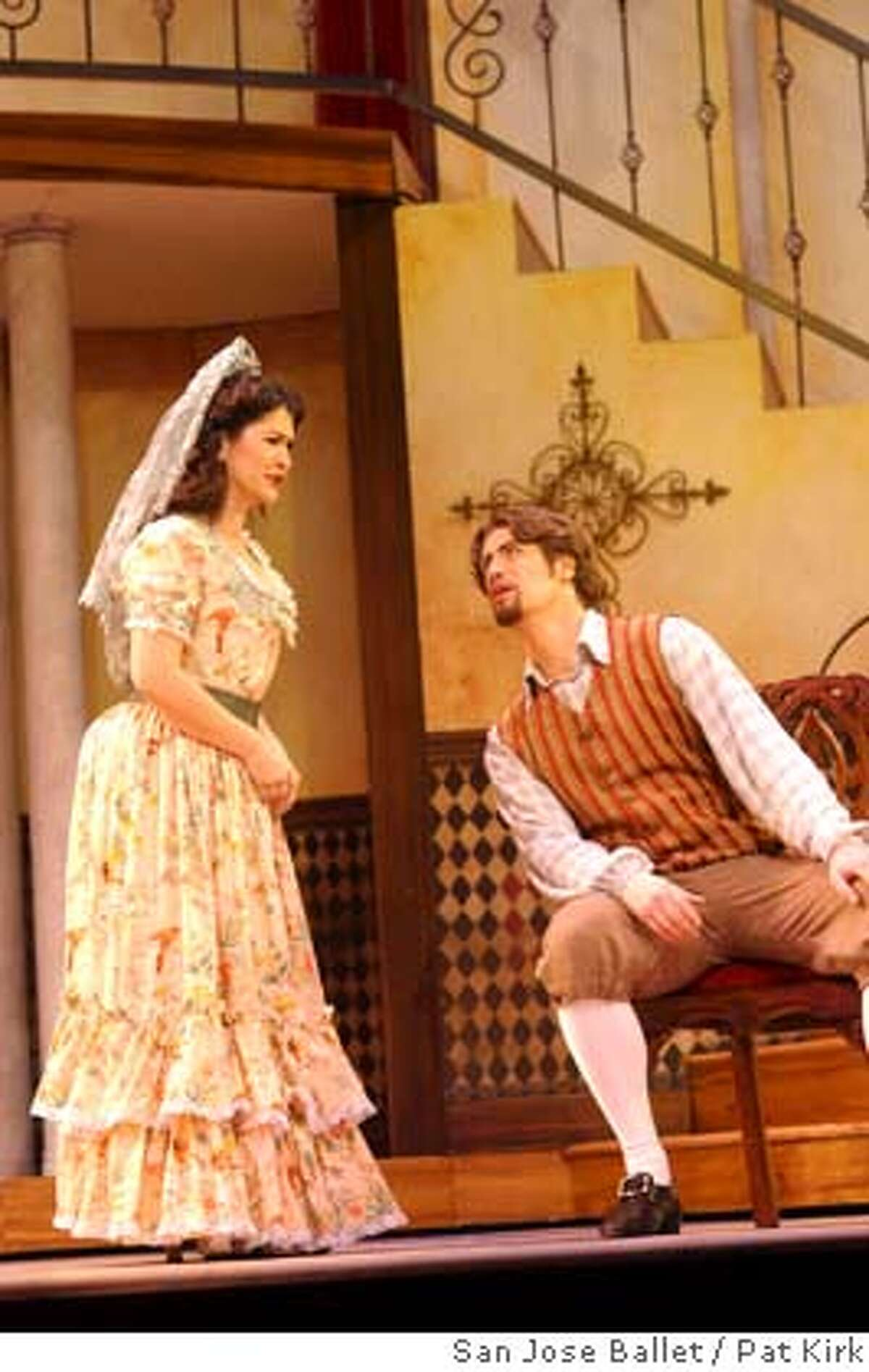 Just like SF Opera, Opera San Jose is doing Rossini's comedy