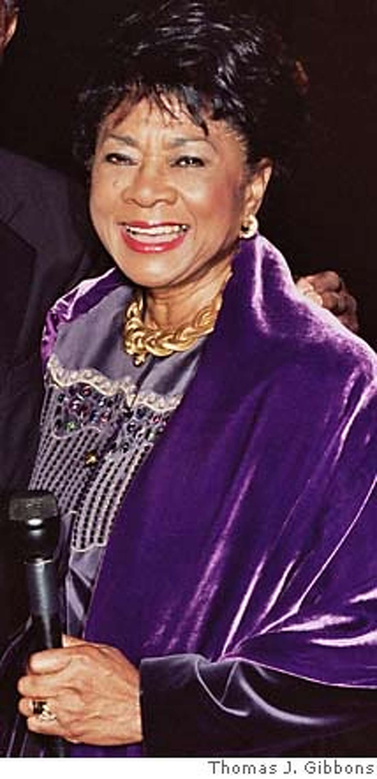 Deserving of the Bay Area Radio Hall of Fame, according to our Radio Waves columnist: Belva Davis.