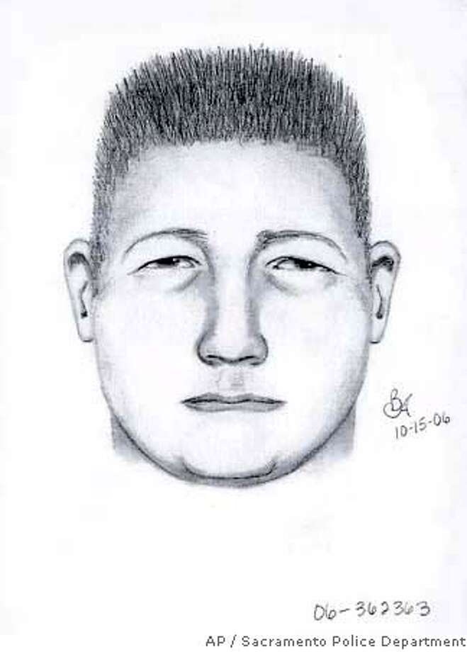 This Sunday, Oct. 15, 2006, sketch provided by the Sacramento Police Department shows a suspected serial rapist who investigators have linked to several sexual assaults in the 1990s. (AP Photo/Sacramento Police Department) PROVIDED BY SACRAMENT POLICE DEPARTMENT Photo: Handout