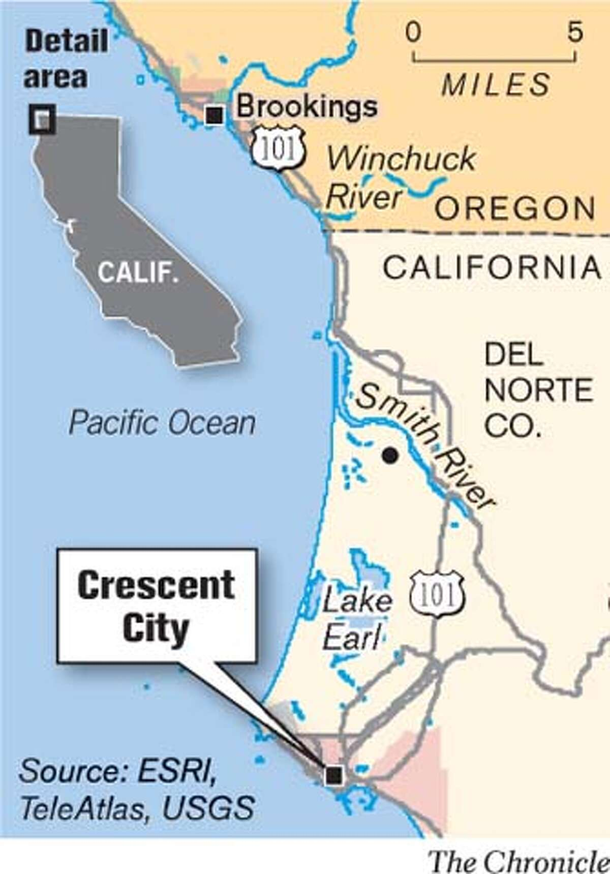 Crescent City. Chronicle Graphic