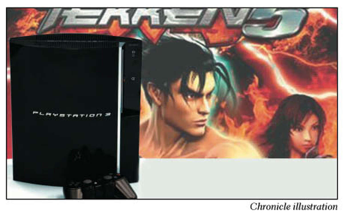 Tekken 5 is one of the games not fully compatible with the PlayStation 3 console. Chronicle Illustration