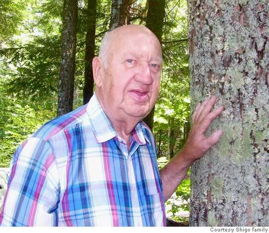 Dr. Alex Shigo began studying trees in the U.S. Forest Service. Photo courtesy of the Shigo family