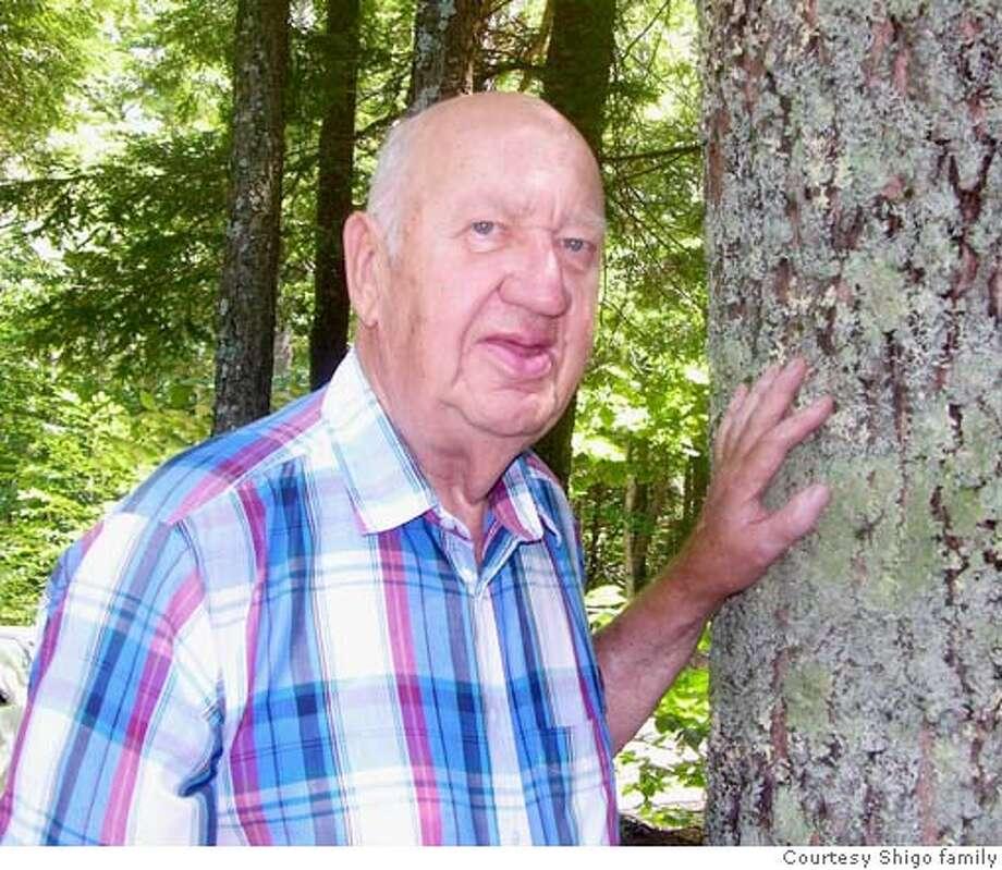 Dr. Alex Shigo began studying trees in the U.S. Forest Service. Photo courtesy of the Shigo family
