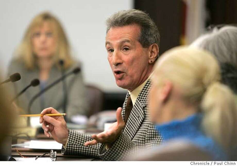 ryan25_084_pc.jpg  Tom Ammiano addresses fellow bridge directors during the hearing. Golden Gate Bridge directors hear public testimony from victims' families as they consider installing a suicide barrier on the bridge on 2/24/05 in San Francisco, CA. PAUL CHINN/The Chronicle  Ran on: 09-12-2006  Supervisor Tom Ammiano's proposal asks San Francisco police to ignore most pot crimes.  Ran on: 09-12-2006  Supervisor Tom Ammiano's proposal asks San Francisco police to ignore most pot crimes. MANDATORY CREDIT FOR PHOTOG AND S.F. CHRONICLE/ - MAGS OUT Photo: PAUL CHINN